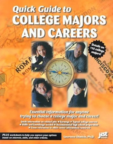9781563708343: Quick Guide to College Majors and Careers (Jist Quick Guide)