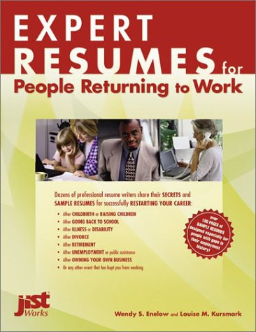 9781563709111: Expert Resumes for People Returning to Work