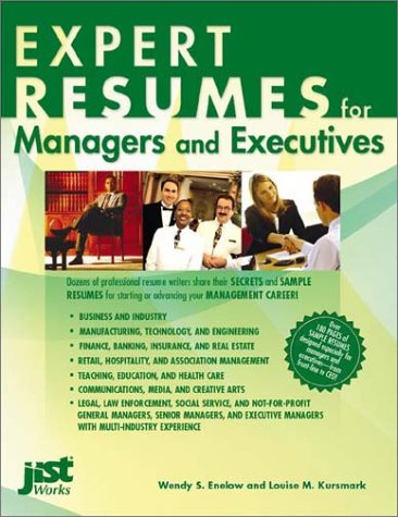 9781563709388: Expert Resumes for Managers and Executives