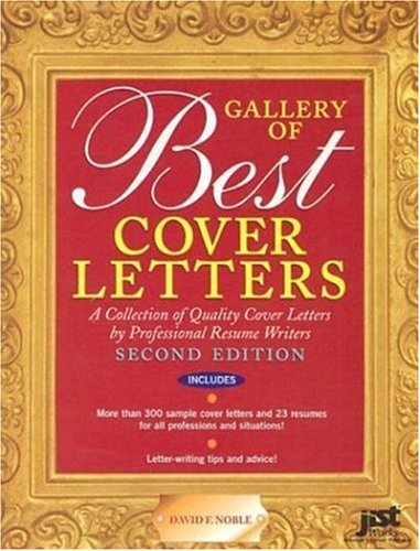 9781563709906: Gallery of Best Cover Letters
