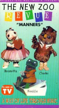 9781563713118: New Zoo Revue:Manners [VHS]