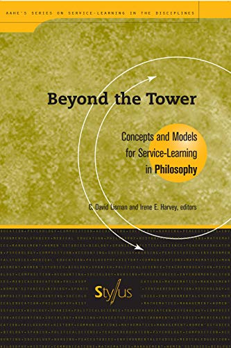 9781563770166: Beyond the Tower: Concepts and Models for Service-Learning in Philosophy (Service Learning in the Disciplines Series)