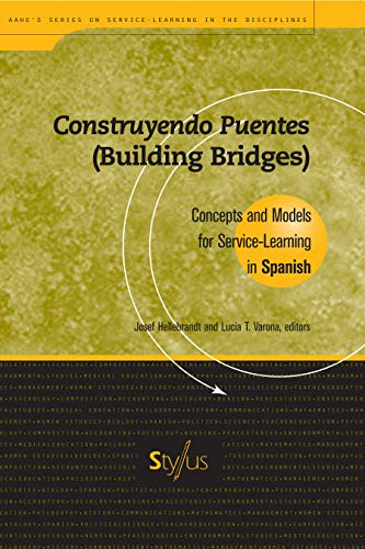9781563770227: Construyendo Puentes (Building Bridges): Concepts and Models for Service-Learning in Spanish (Service Learning in the Disciplines Series)