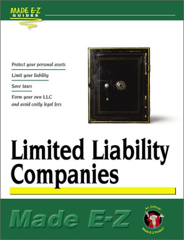 Limited Liability Companies (Made E-Z Guides): Made E-Z Products