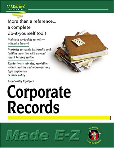 Corporate Records: Made E-Z Products