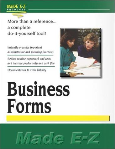 Business Forms: Products, Made E-Z