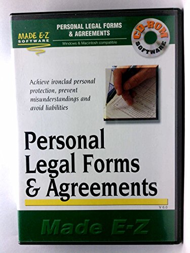 9781563826221: Personal Legal Forms & Agreements