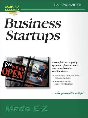 Business Startups Kit: Made E-Z Products
