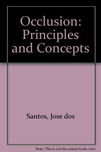 9781563860355: Occlusion: Principles and Concepts