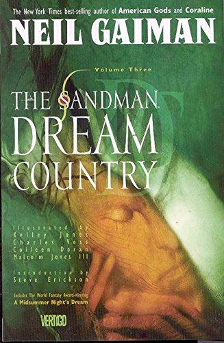 9781563890161: The Sandman Library, Volume 3: Dream Country