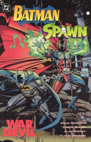 BATMAN: SPAWN VS BATMAN WAR DEVIL: MOENCH, DOUG; DIXON,