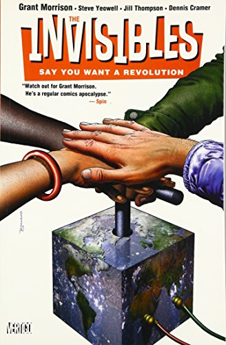 THE INVISIBLES, Vol. 1-7: Say You Want a Revolution, Apocalipstick, Entropy in the UK, Bloody Hell ...