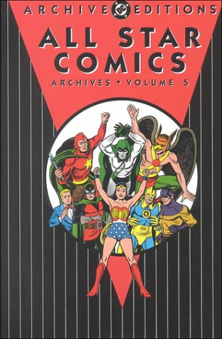 All Star Comics Archives, Volume 5
