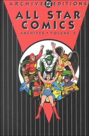 9781563894978: All Star Comics Vol. 5 - DC Archives
