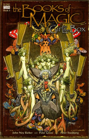 The Books of Magic: Girl in the Box (Book 5)