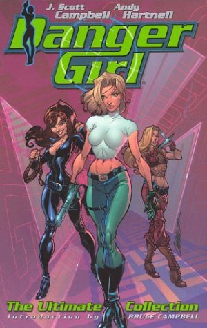 9781563895494: DANGER GIRL THE ULTIMATE COLL