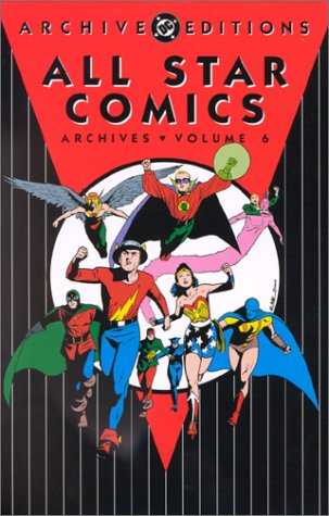 DC All Star Comics Archives - Volume 6