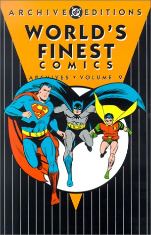 Worlds Finest Archives HC Vol 02 (World's Finest Comics Archives)