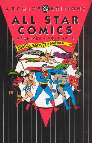 9781563898129: All Star Comics - Archives, VOL 08