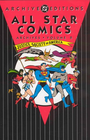 9781563898129: All Star Comics - Archives, Volume 8