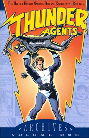 T.H.U.N.D.E.R. Agents Archives Vol. 1 (Thunder Agents): Wally Wood