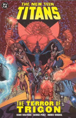 9781563899447: New Teen Titans The Terror Of Trigon TP (New Teen Titans Archives)