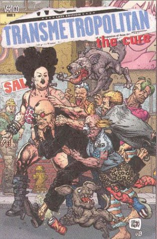 Transmetropolitan VOL 09: The Cure - Book 9 (Transmetropolitan (Graphic Novels))