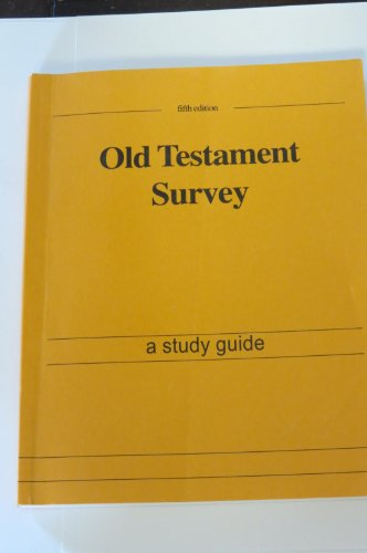 old testament history study guide Institute manuals for institute teachers and students as well as learning old testament instructor's guide scripture study—the power of the word.
