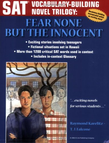 9781563910210: SAT Vocabulary-Building Novel: Fear None but the Innocent