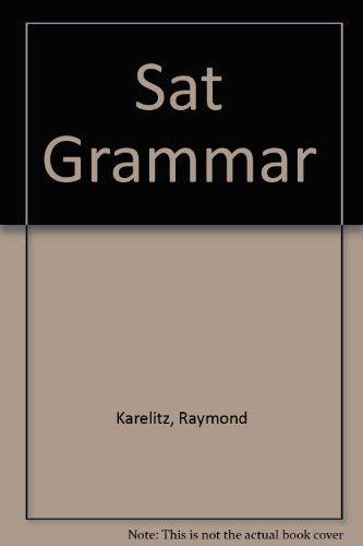 9781563910289: SAT Grammar Flashcards