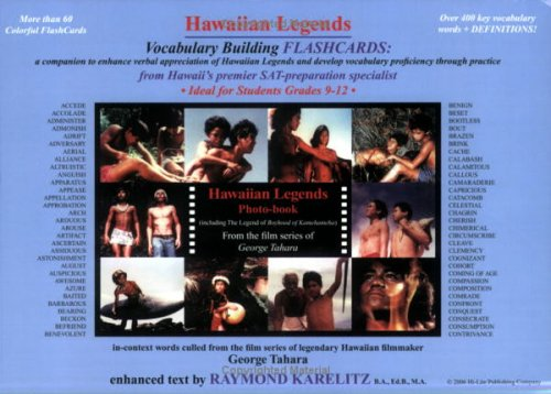 9781563910296: Hawaiian Legends Vocabulary Building Flashcards