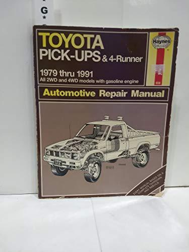 9781563920158 - Toyota Pick-Ups 4-Runner Automotive Repair Manual - Libro