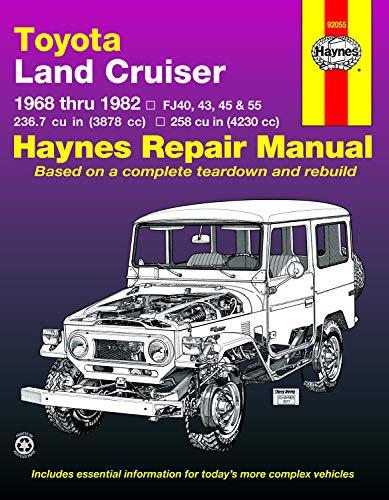 9781563920233: Toyota Land Cruiser, 1968-1982 (Haynes Manuals)