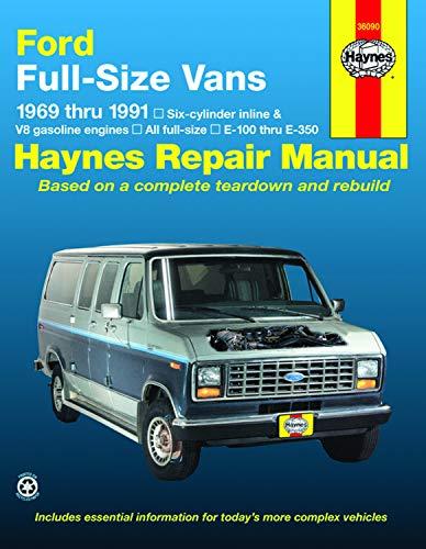 9781563920295: Ford Full-Size Vans, 1969-1991 (Haynes Repair Manual) (Haynes Repair Manuals)