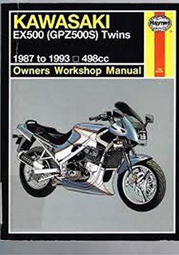 9781563920523: Kawasaki Ex500 (GPZ500S OWNERS WORKSHOP MANUAL)