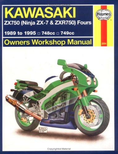 9781563920547: Haynes Kawasaki, ZX750 Ninjas ZX7 and ZXR 750 1989-1995 (Haynes Manuals)