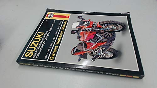 9781563920554: Suzuki GSX-R750 and GSX-R1100 Fours, Katana (GSX600F, GSX750F and GSX1100F) Fours Owners Workshop Manual (Haynes Owners Workshop Manuals)