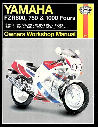 9781563920561: Yamaha FZR600, 750 and 1000 Owners Workshop Manual (Haynes Owners Workshop Manuals)