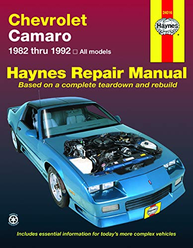 9781563920608: Chevrolet Camaro (82-92) Haynes Repair Manual (Haynes Repair Manuals)