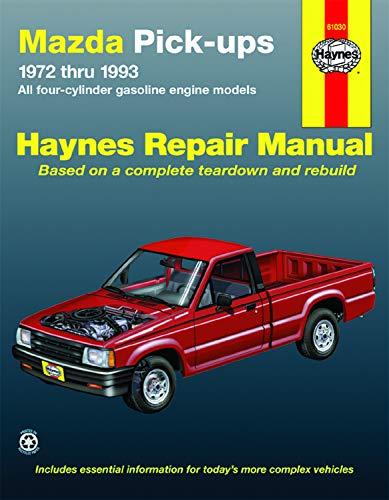 9781563920844: Mazda Pickups, 1972-1993: All Gasoline Engine Models (Haynes Repair Manuals)