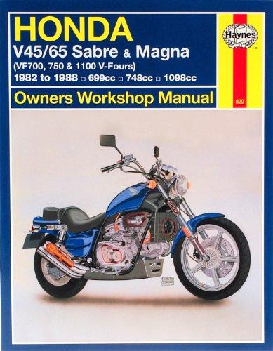 9781563921049: Honda V45/65 Sabre & Magna (VF700m 750 & 1100 V-Fours) 1982 to 1988: Owners' Workshop Manual (Haynes Repair Manuals)