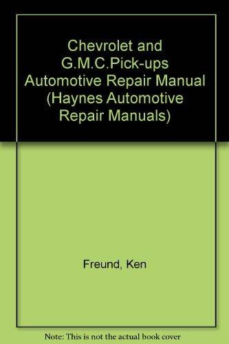9781563921155: Chevrolet & Gmc Pickups, 1988-94 Automotive Repair Manual (Haynes Automotive Repair Manuals)