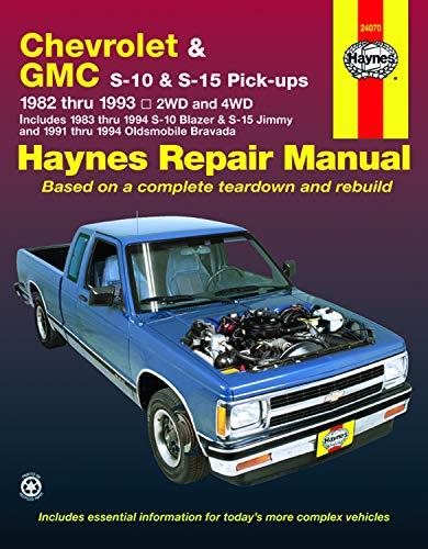 9781563921162: Chevrolet S-10, GMC S-15 and Olds Bravada Automotive Repair Manual (Haynes Automotive Repair Manuals)
