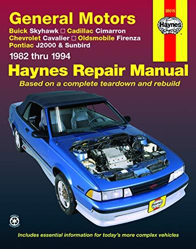 "General Motors """"J-Cars"""" Automotive Repair Manual"
