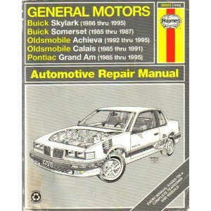 General Motors: Buick Skylark 1986 Thru 1995,: Lindwall, Richard, Haynes,