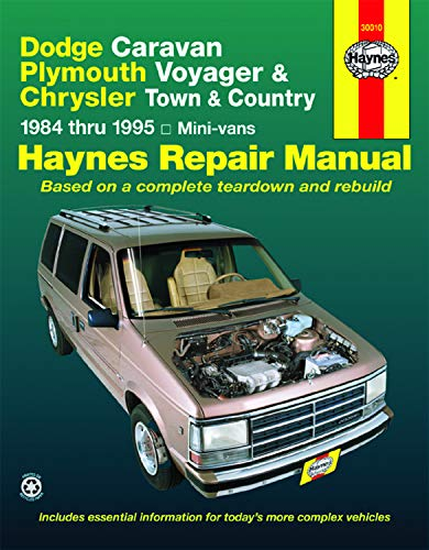 Haynes Repair Manual - Dodge Caravan, Plymouth Voyager and Chrysler Town and Country Mini-Vans ...