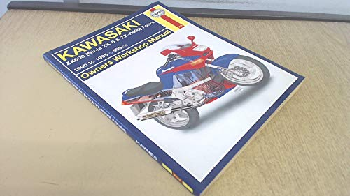 9781563921469: Kawasaki ZX600 (ZZ-R600 and Ninja ZX-6) Fours Owners Workshop Manual (Haynes Owners Workshop Manuals)