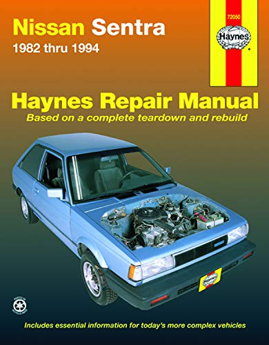 9781563921506: Nissan Sentra (1982-1994) Automotive Repair Manual (Haynes Automotive Repair Manuals)