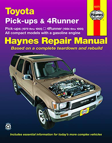 Toyota Pickup '79'95 (Haynes Repair Manuals): Haynes