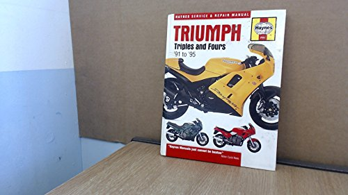 9781563921629: Triumph Triples and Fours Service and Repair Manual (Haynes Service and Repair Manuals)